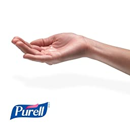 Purell 2156-DS Quick Floor Stand Kit, 1 Stand with 2 Refills, White (Pack of 1)