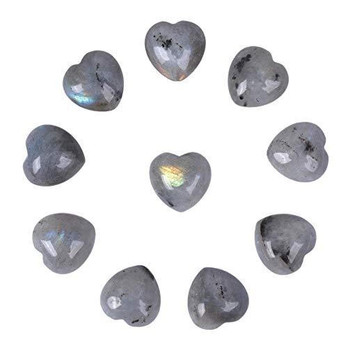 Justinstones Natural Labradorite Gemstone Healing Crystal 0.8