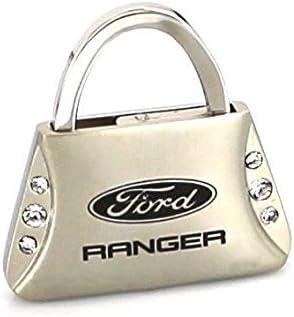 Ford Raptor Purse Shape Keychain W//6 Swarovski Crystals