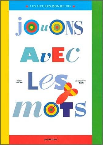 Lire un Jouons avec les mots epub, pdf
