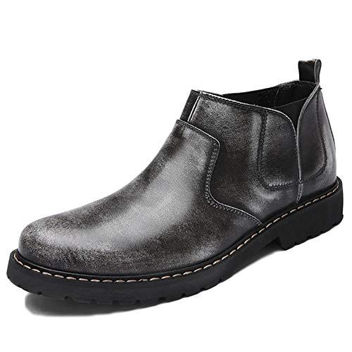 Chelsea Boots Uomo Pelle Scamosciata Formale Sicurezza Brogue Classic Primavera E Autunno Set di Piedi Martin Stivali Scarpe Casual retr