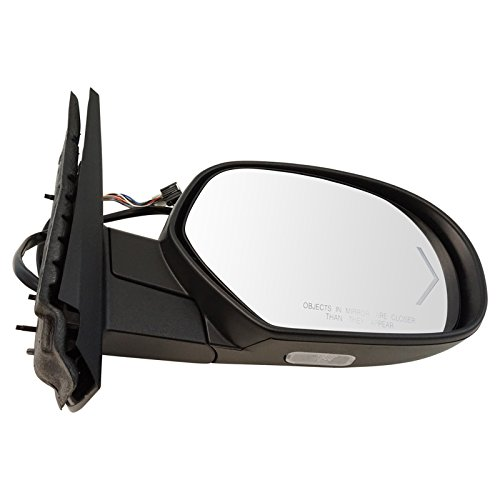 Mirror Power Folding Heated Memory Puddle Signal Right RH for GM Pickup (Heated Right Power Mirror)