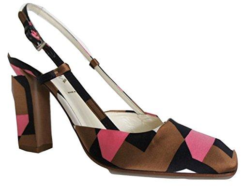 Prada  Duchesse Ottago, Escarpins pour femme Multi-Colour - See Pictures 35 (3 UK)