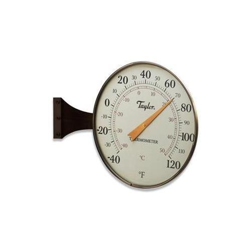 Taylor 480bz 8.5'' Dial Thermometer Bronze, Aluminum, Glass by Taylor