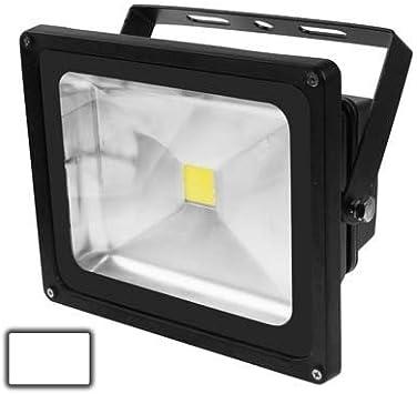 Color : S-led-1639ww AC//DC 12V Lights Bulbs 50W High Power White LED Floodlight Lamp Luminous Flux: 4000-4500lm