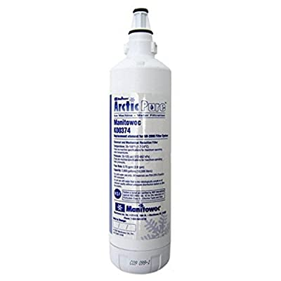 Manitowoc K00374 Arctic Pure Replacement Ice Maker Filter Cartridge