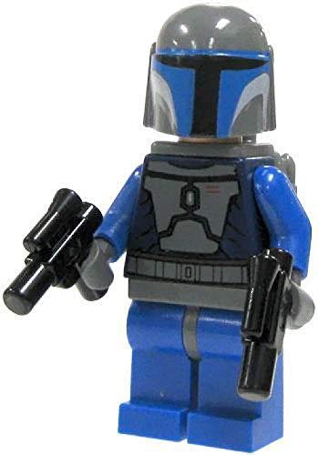 (LEGO Star Wars - Minifigure Mandalorian with Double Blaster - x1 Loose)