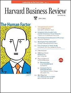 Harvard Business Review, June 2005 Periodical