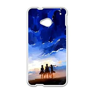 Attack On Titan HTC One M7 Cell Phone Case White Gift xxy_9885625