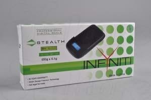 Infyniti Stealth SH-500 500g x 0.1g Digital Pocket Scale