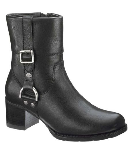 Harley-Davidson Women's Sadie Work Boot, Black, 8 M US