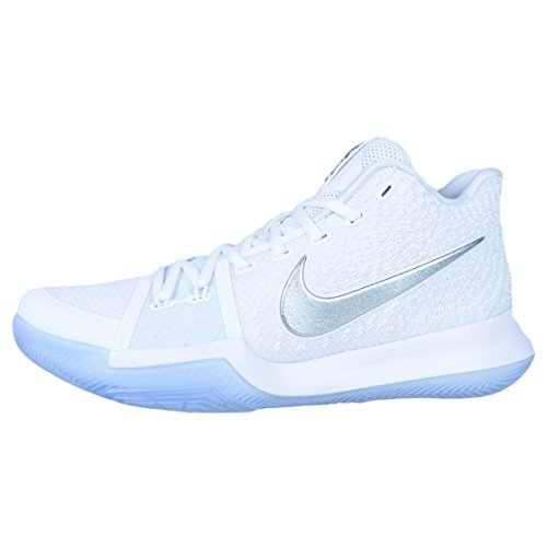 Nike Kyrie Irving 3 chrome Celtics Nba Boston, Scarpe Uomo Bianco
