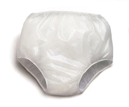 Priva Inc. Waterproof Clear Vinyl Pants, Size Medium, (3 Pack) (Pack of - Vinyl Bladders