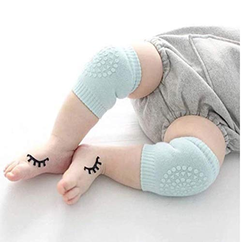 SellBotic 2 Pair Baby Knee pad Kids Safety Crawling Elbow Cushion Infant Toddlers Baby Leg Warmer Knee Support Protector Baby Kneecap (Multi Color)