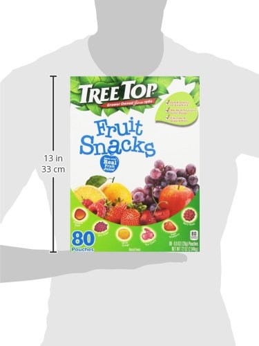 Tree Top All Natural Fruit Snacks (80 Pouches)