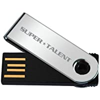 Super Talent Pico-A 8 GB USB 2.0 Flash Drive STU8GPAS (Silver)