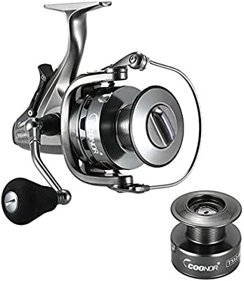 JAYLONG Carrete de Spinning, Carrete de Pesca Suave Serie 4000 ...