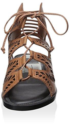 Dolce Vita Kvinners Deklon Flat Gladiator Sandal Mocha