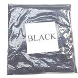 100G HOLOGRAPHIC BLACK GLITTER ULTRA FINE 0.008 WINE GLASS ART AND CRAFT NAIL ART SCRAPBOOKING NON TOXIC