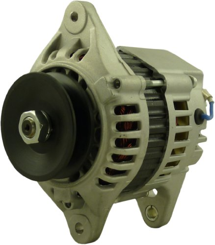 New Alternator for John Deere Skid Steers 4457 5575 6675 Daewoo DSL801 Samsung Excavator SE50-3 Takeuchi TB025 Yanmar Engines 4TNE88 3TN100 3TNE84 3TNE88 4TNE84 4TNE94 4TNE98 3TNC78L 3 & 4 Cyl Diesel