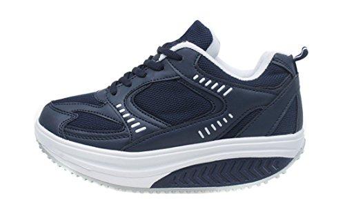 Benessere Mapleaf Scarpe Blue Rassodanti navy Dimagranti Basculanti Rassoda Sportive Fitness Glutei Donna XRwRq4AO