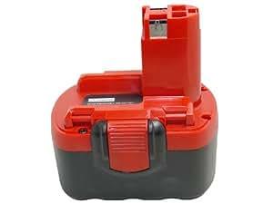 Replacement Battery for BOSCH BAT040 BAT140 BAT159 14.4V 14.4 volt