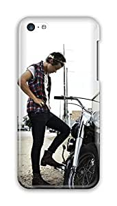 Harry Styles Motorbike PC Hard for ipod Touch 4 case for boys