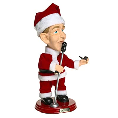ANIMATED GEMMY POP CULTURE BING CROSBY SINGING DANCING CHRISTMAS FIGURE: Toys & Games