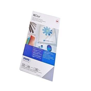 GBC 4400025 Copertine Rilegatura Hiclear A5, PVC 240 Micron, Trasparente, 100 Pezzi ACCO Brands