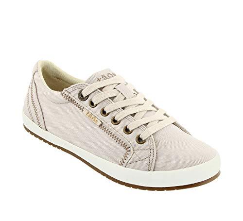 Taos Footwear Women's Star Fashion Sneaker, Stone, 10 M US Star