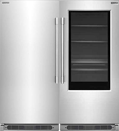 - Frigidaire Professional 19 Cu. Ft. Glass Door All Refrigerator and 19 Cu. Ft. All Freezer FPGU19F8TF and FPFU19F8RF