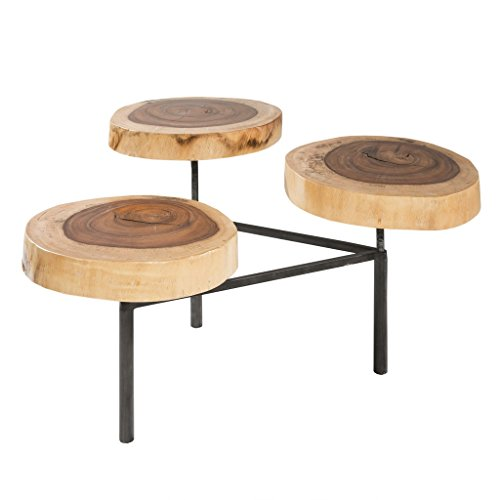Ink+Ivy Acadia Naturale Coffee Table Natural