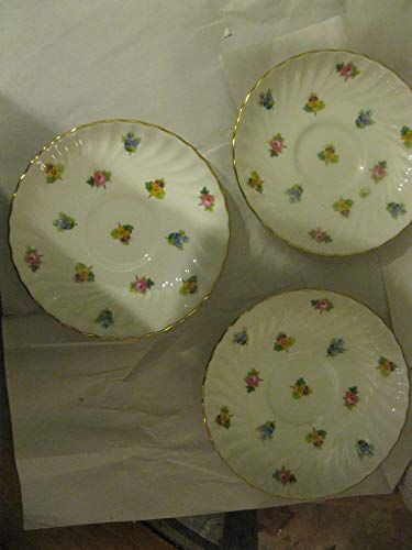 Vintage a set of 3 Mintons China Teacup Saucers England