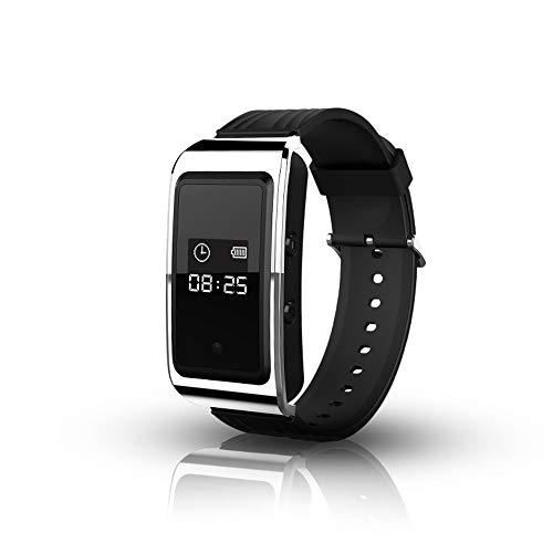 WXMYOZR Voice Recorder Watch Wrist Band Digital Audio Voice Recorder Automatic Noise Reduction HD Recording Portable Audio and HD Video Watch Bracelet 64GB,32GB