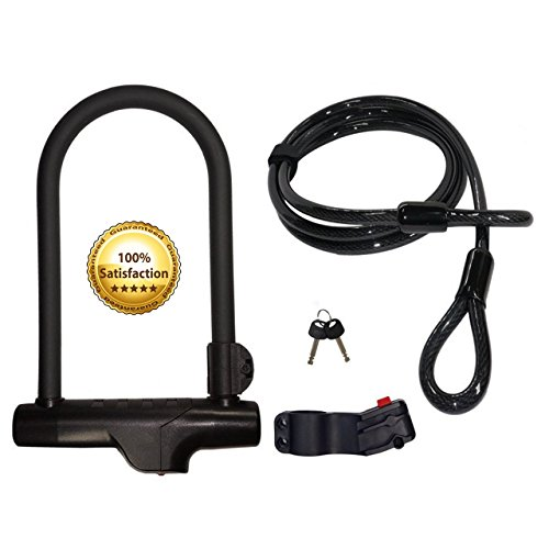 cocoweb armbar bike u lock with lotuslock bicycle flex cable bike lock combo slabbk slllbk60. Black Bedroom Furniture Sets. Home Design Ideas