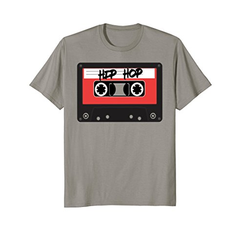 Hip Hop Retro Red Cassette Tape T Shirt by 80s & 90s Throwback Vintage Tees
