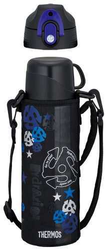 Japanese THERMOS Vacuum Insulation Thermos 2 Way Bottle 0.83/0.8L BlackBlue FFR-801WF by Japanese