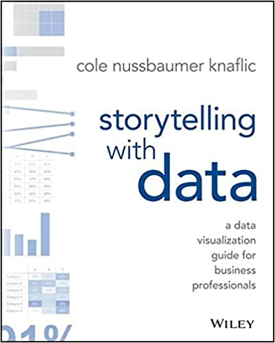 Book cover: storytelling with data