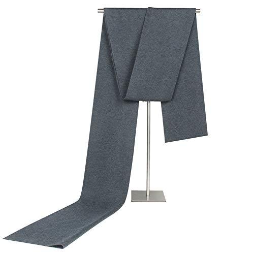 Cachemire 180cm Hommes A4 Rhombe Hiver Gris Foncé Écharpe Pour Changer Monochrome Amdxd Automne dgBvwzg