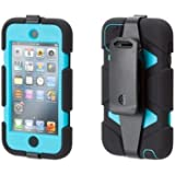 Griffin GB35704 Survivor for iPod Touch 5th Generation - Black / Pool Blue / Black