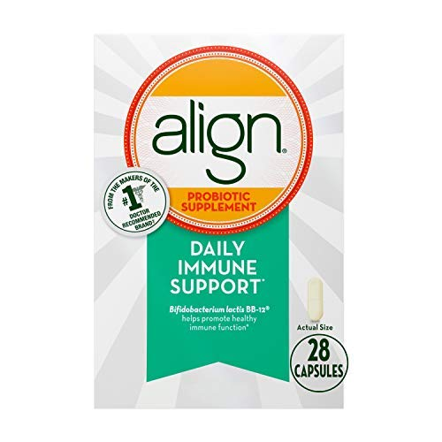 Align Probiotics, Immune Support Daily Probiotic Supplement for Men &  Women, 28 Capsules, Support Your Immune Health, No. 1 Doctor Recommended Probiotic Brand