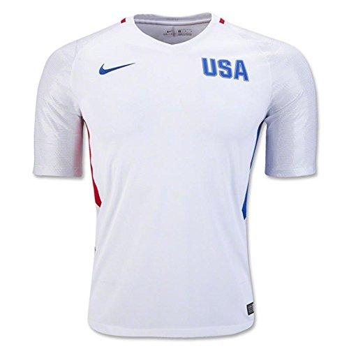 (Nike Men's Usa 2016 Olympic White/Hyper Cobalt - XXL)