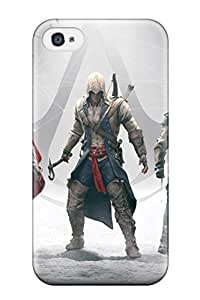 New Style New Premium Five Years Of Assassin's Creed Skin Case Cover Excellent Fitted For Iphone 4/4s 8350166K20338963