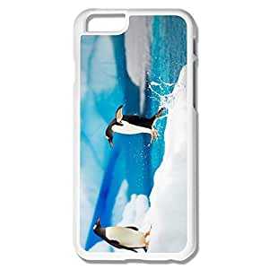 Fashion Penguin Plastic Cover For IPhone 6