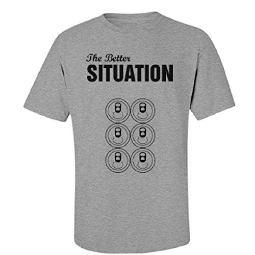 The Better Situation: Unisex Fruit of the Loom Midweight T-Shirt (Jersey Shore Outfits)