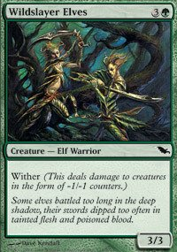 Magic: the Gathering - Wildslayer Elves - Shadowmoor - (Shadowmoor Foil)