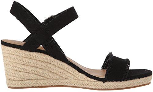Brand Lk Marceline WoMen Espadrille Wedge Black Sandal Lucky gwfBxqFg