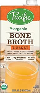 Pacific Foods, Organic Bone Broth - Turkey (Pack of 2)