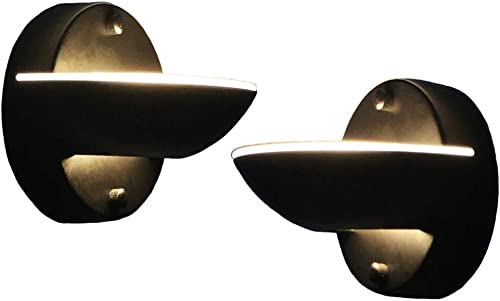 YIFONTIN LED Wall Lamp Sconces 7.5W 3000K Warm Light 2 Pack Dimmable