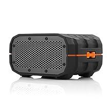 Braven BRVBOG-1 Portable Ultra Rugged Wireless Bluetooth Speaker/Charger, Black